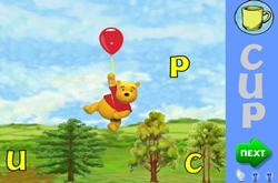 Winnie, the pooh letters