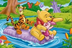 Sort My Tiles Pooh Pigle And Tigger
